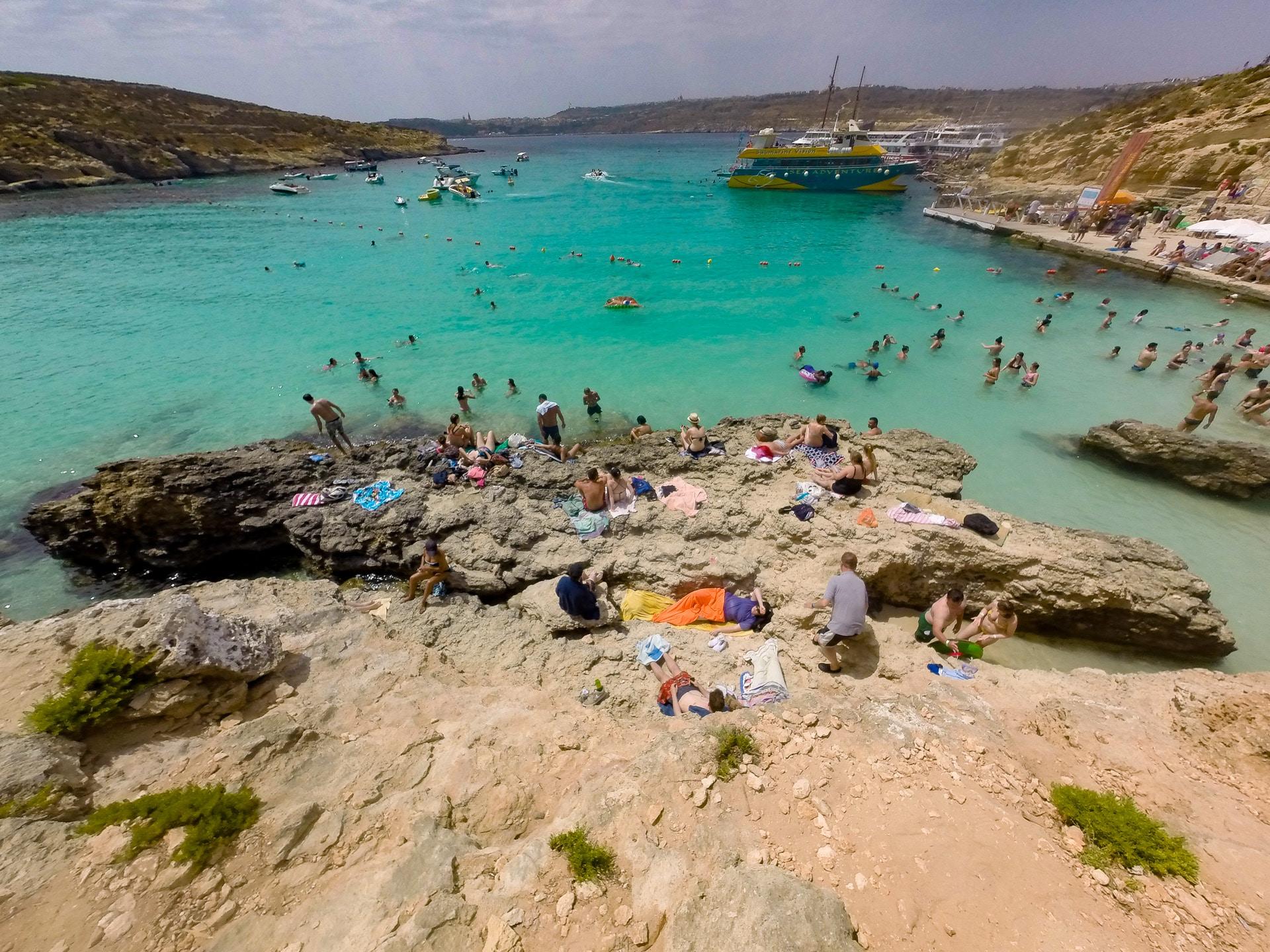 Błękitna Laguna - Malta