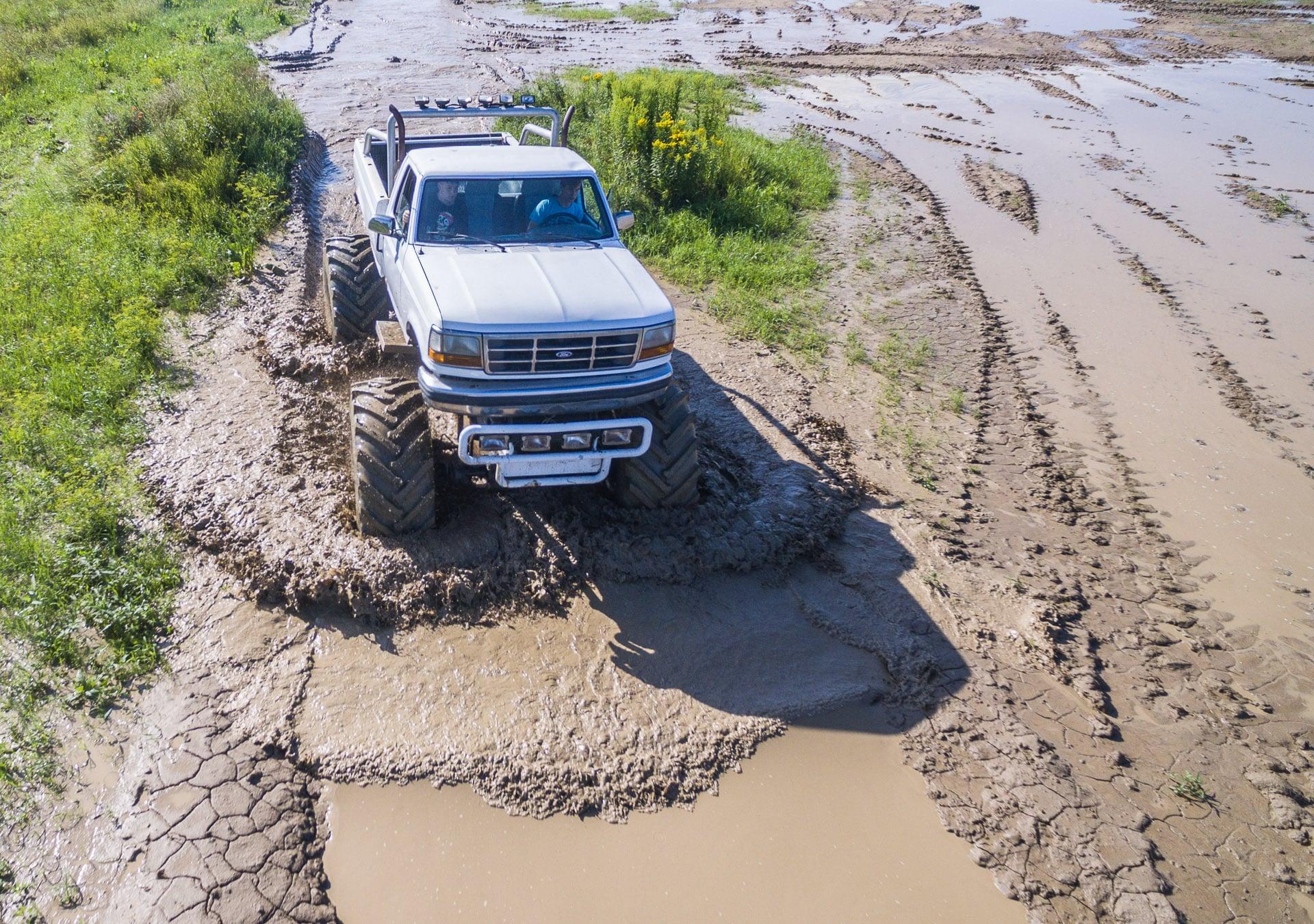 Monster truck - jazda