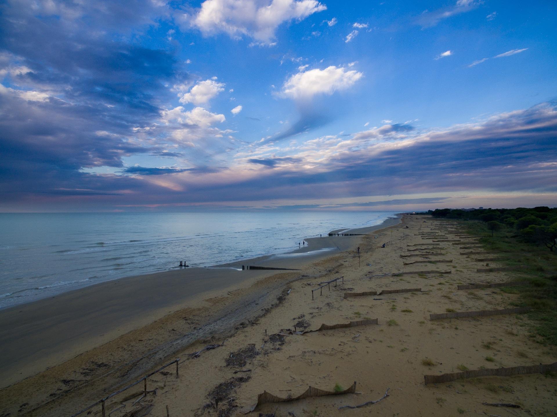 Bibione - okolice latarni morskiej
