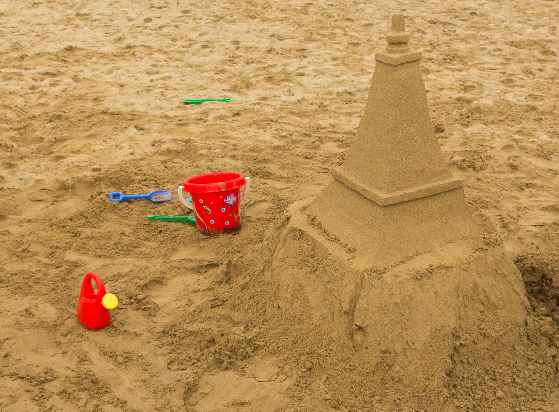 Zamek na piasku