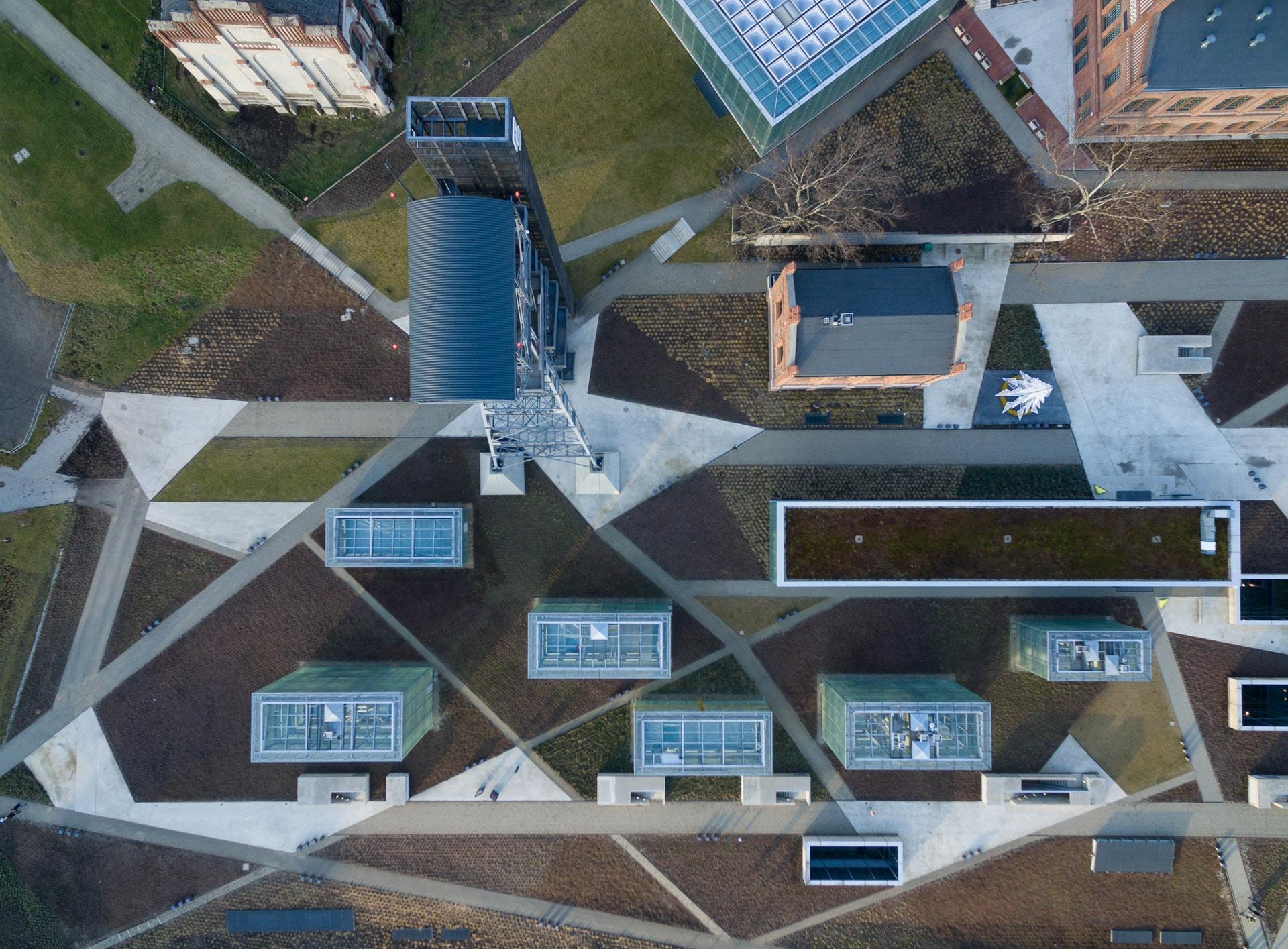 Muzeum Śląskie z drona