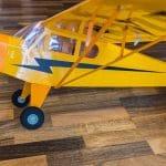 Model samolotu Piper Cub J-3