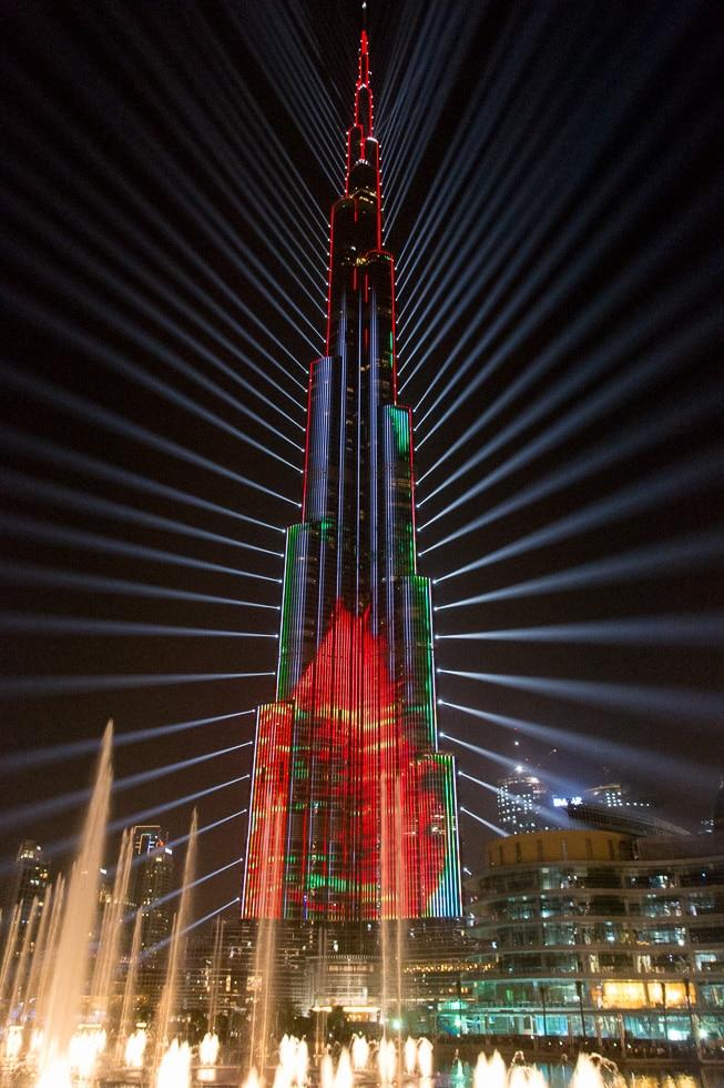 Dubaj - Nowy Rok