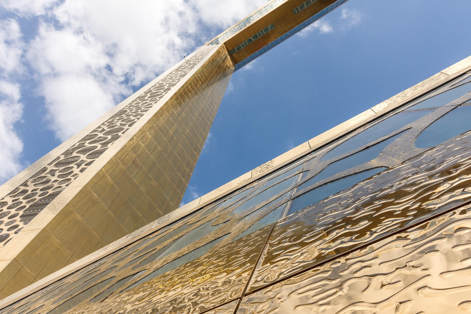 Dubaj, The Frame