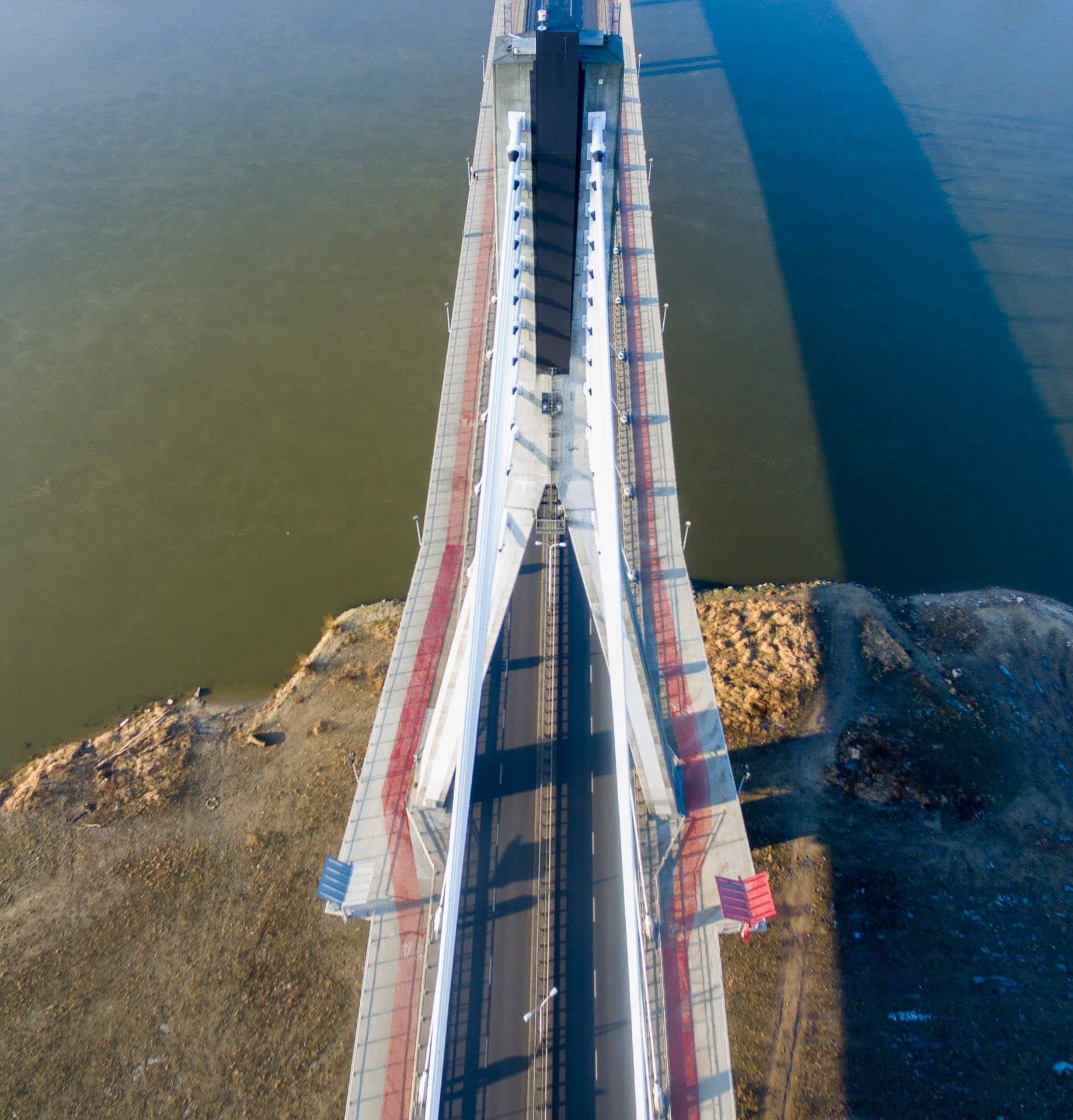 Most Świętokrzyski z drona
