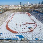 Stadion RKS Skra z drona