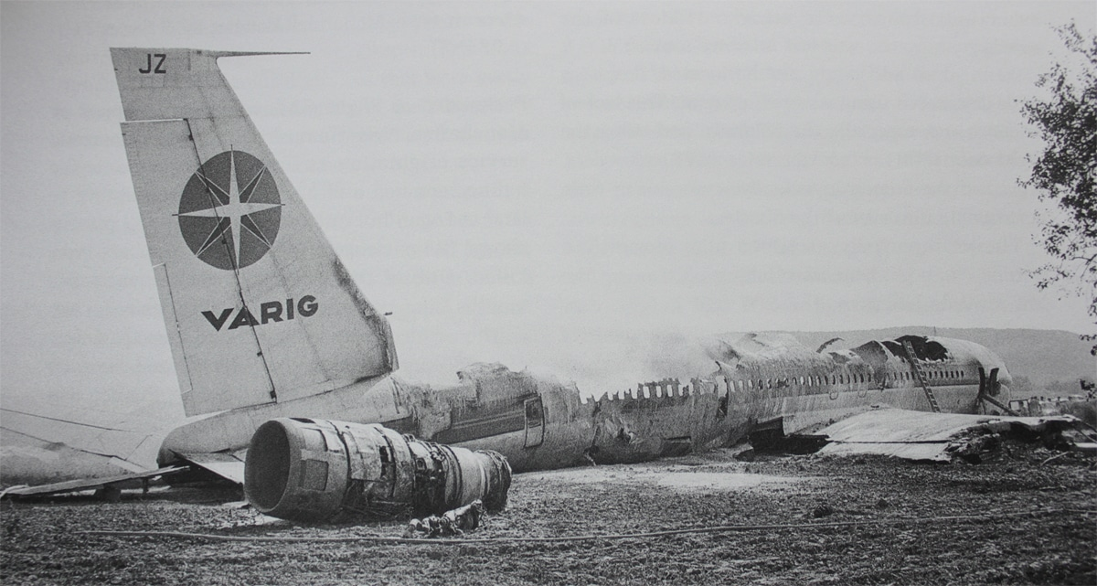 Varig fot. Varig Boeing 707 fot. Wikimedia Commons