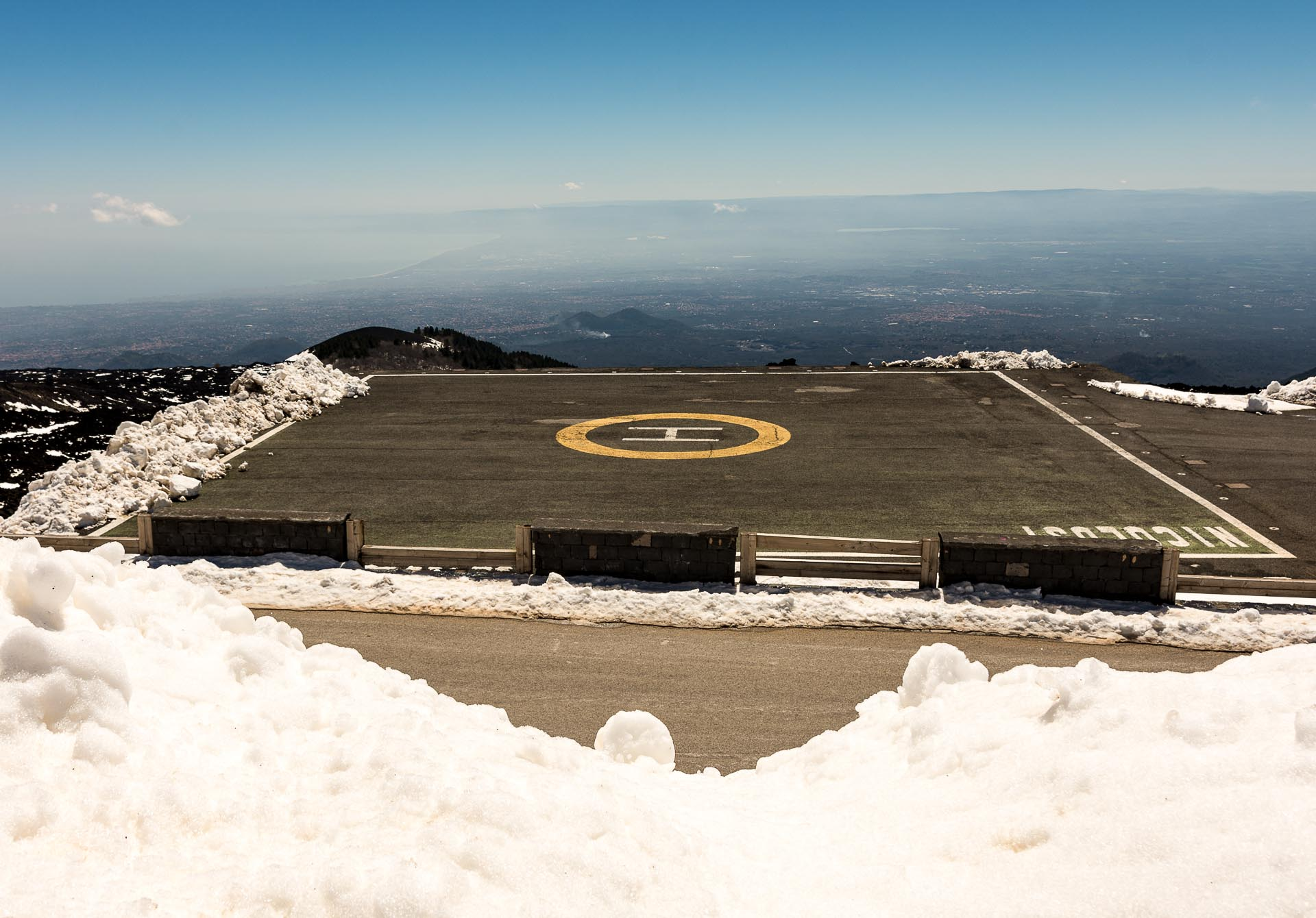Etna heliport
