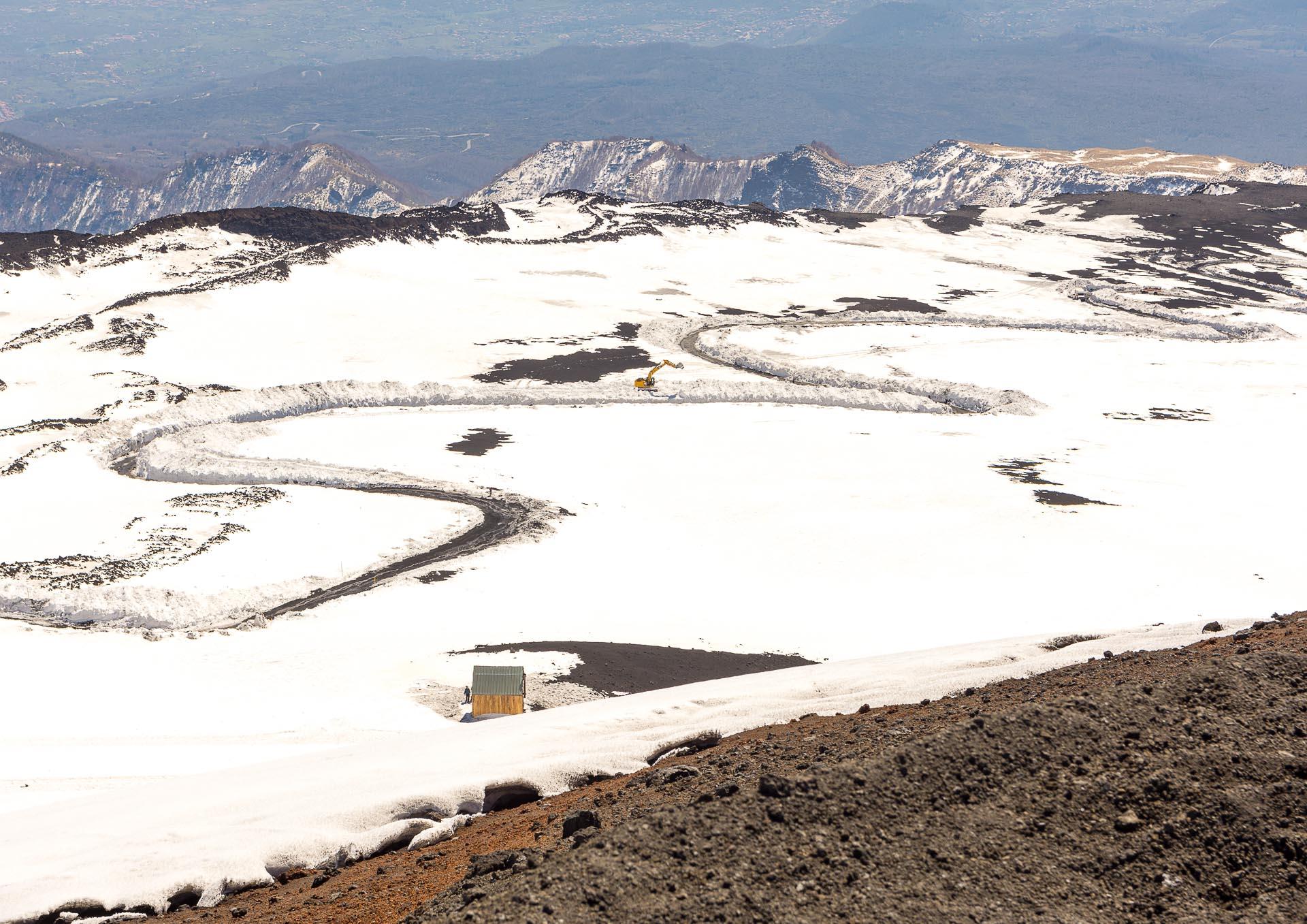 Wjazd na Etnę