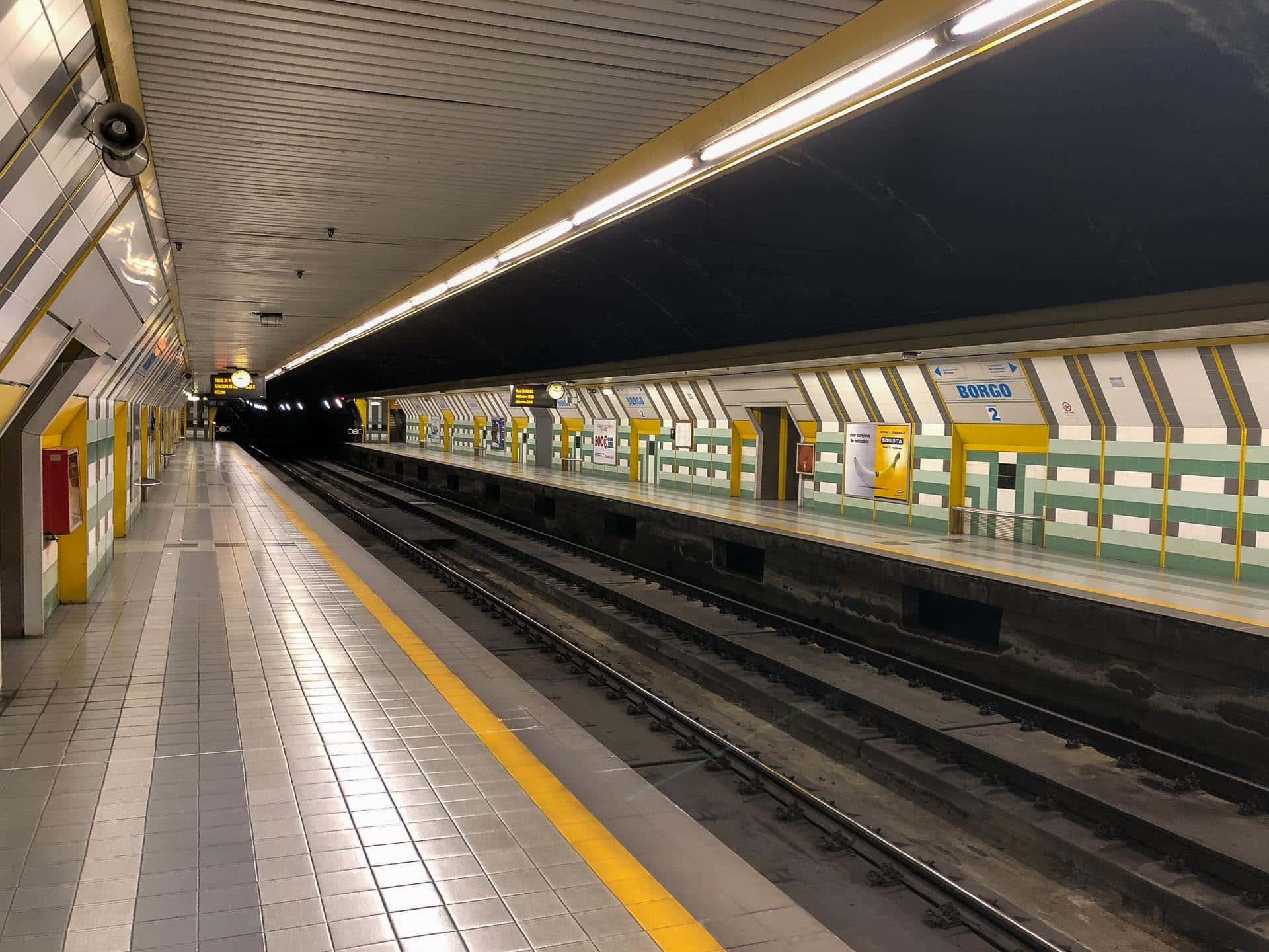 Metro w Katanii