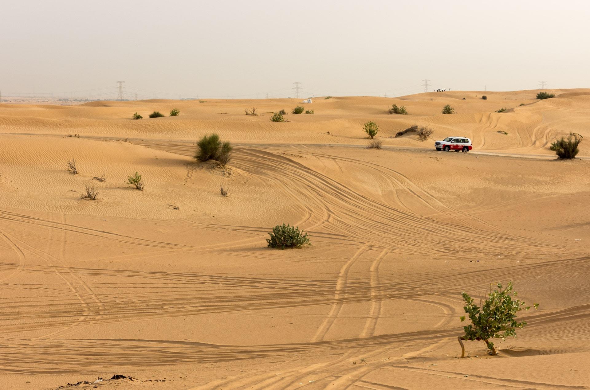 Pustynia w Dubaju