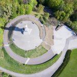 Westerplatte z drona