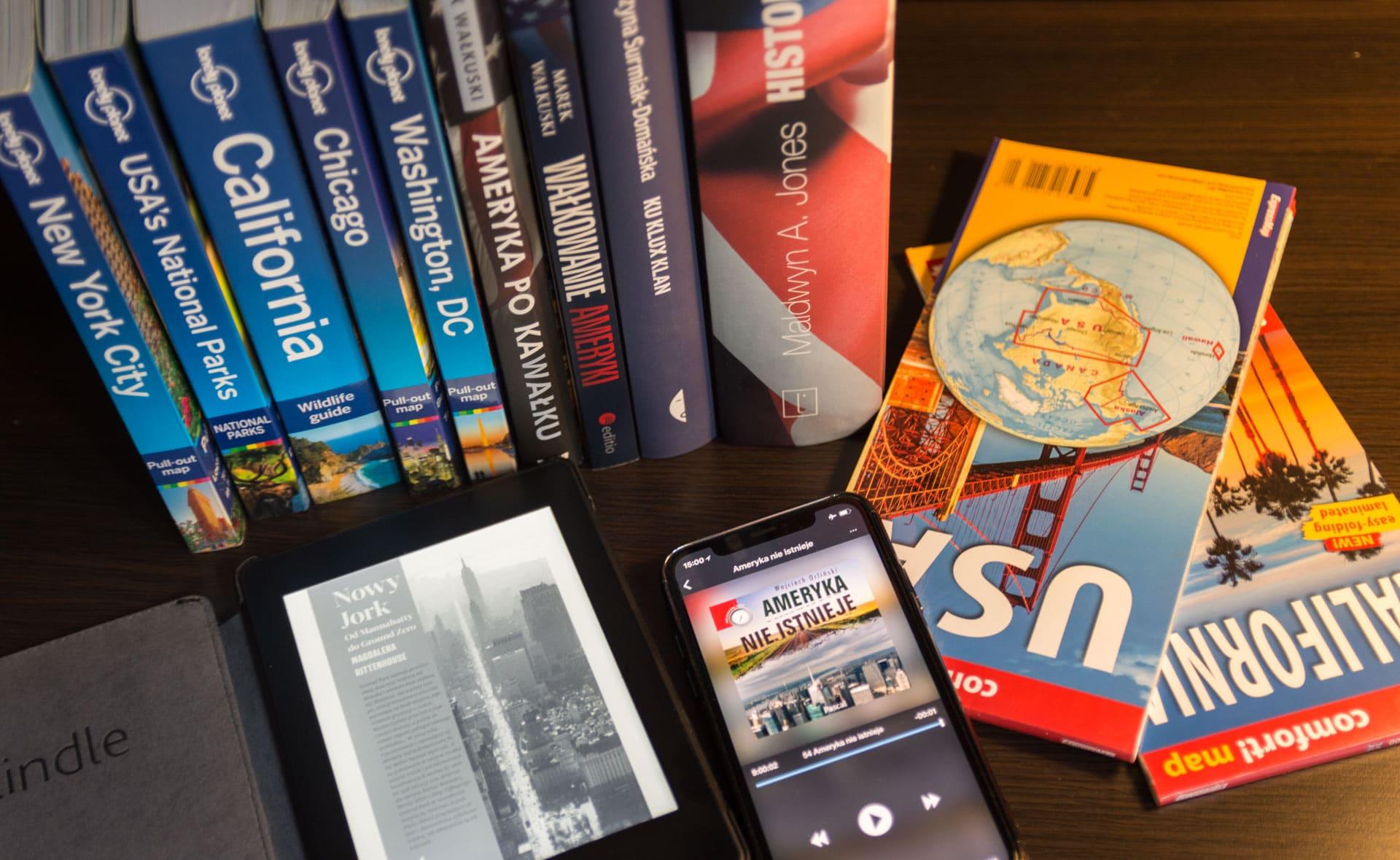 Książki o USA
