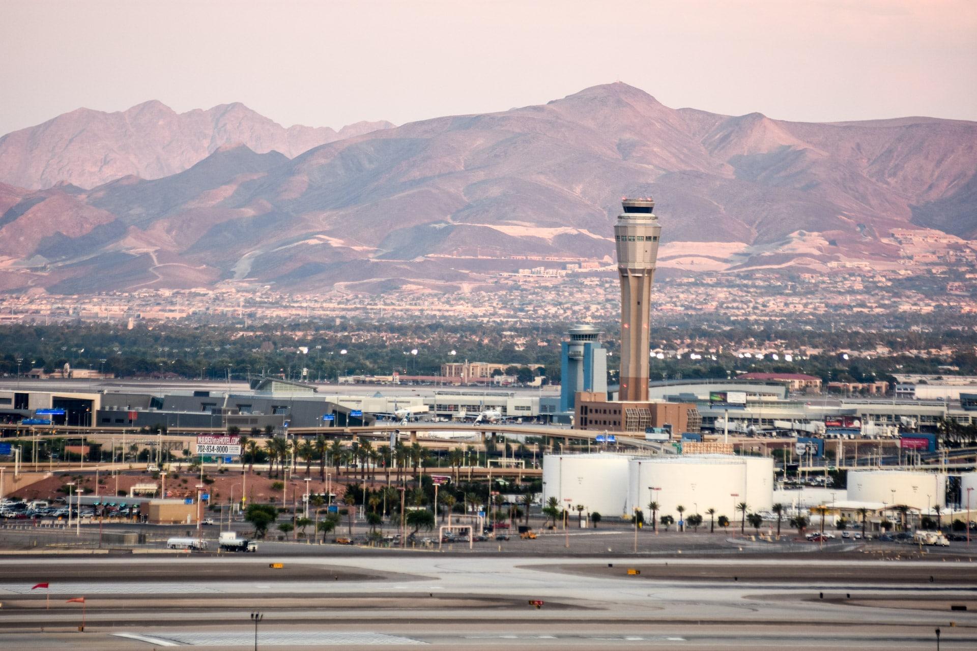 Lotnisko Las Vegas