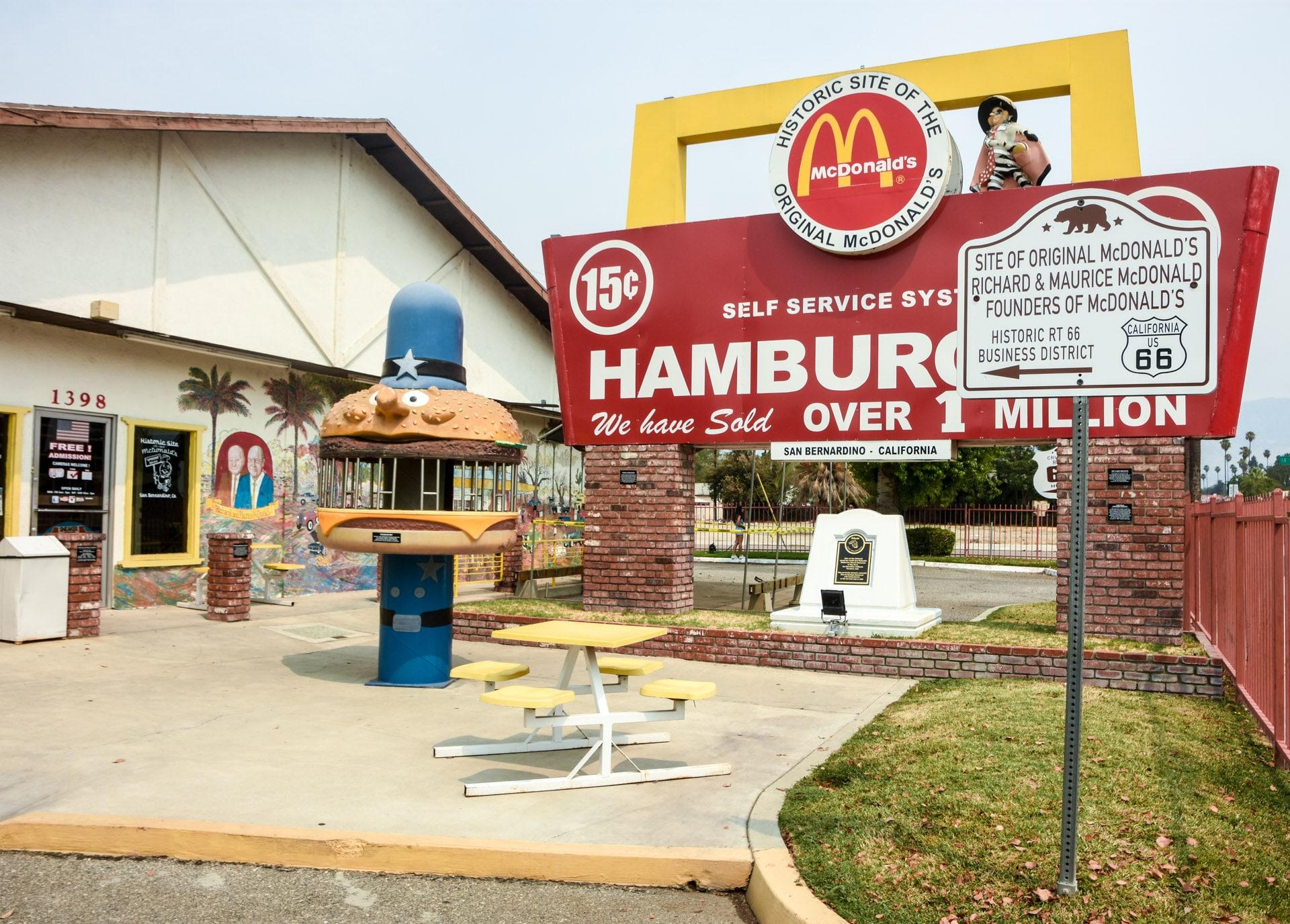 Pierwszy na świecie McDonalds