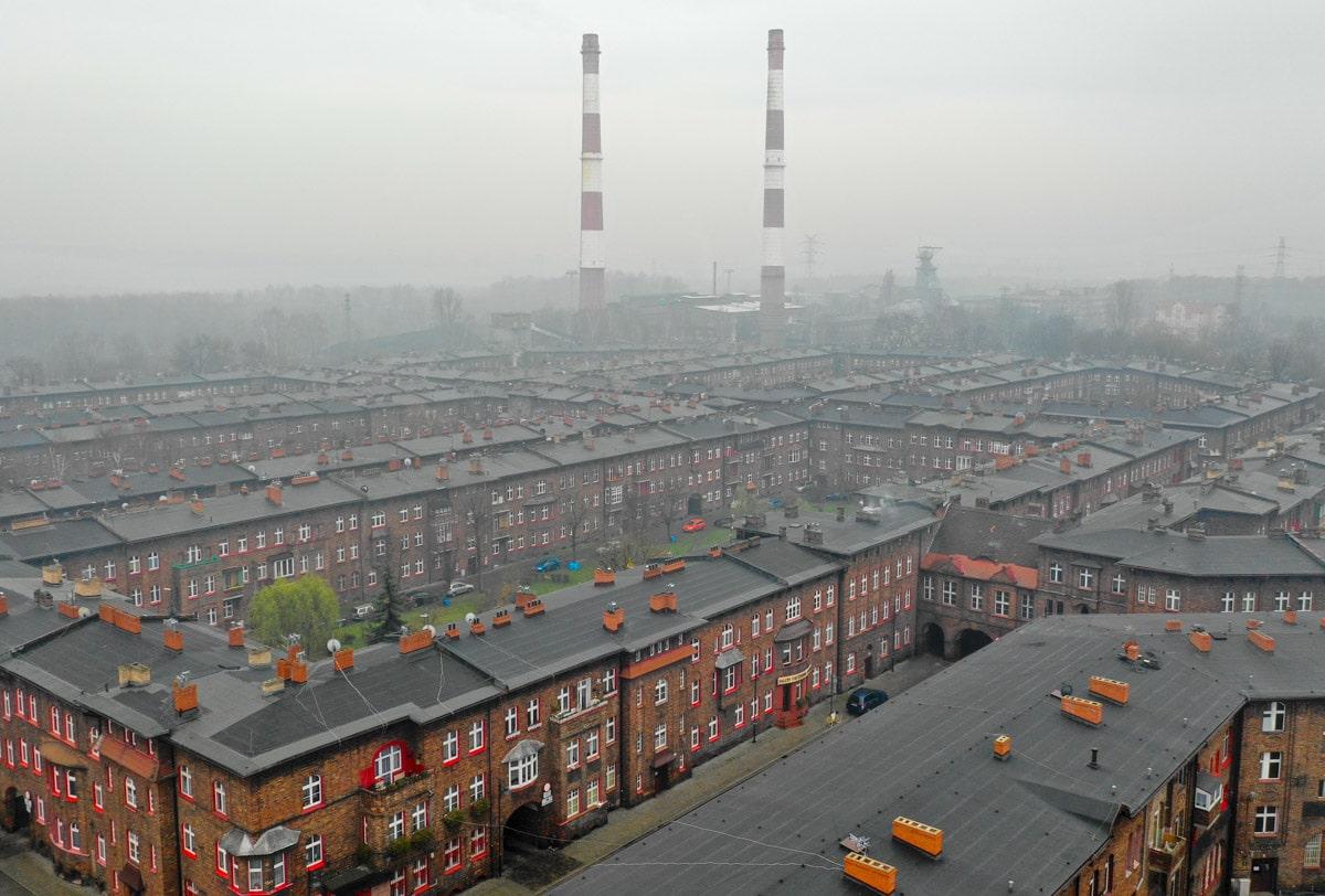Nikiszowiec - smog