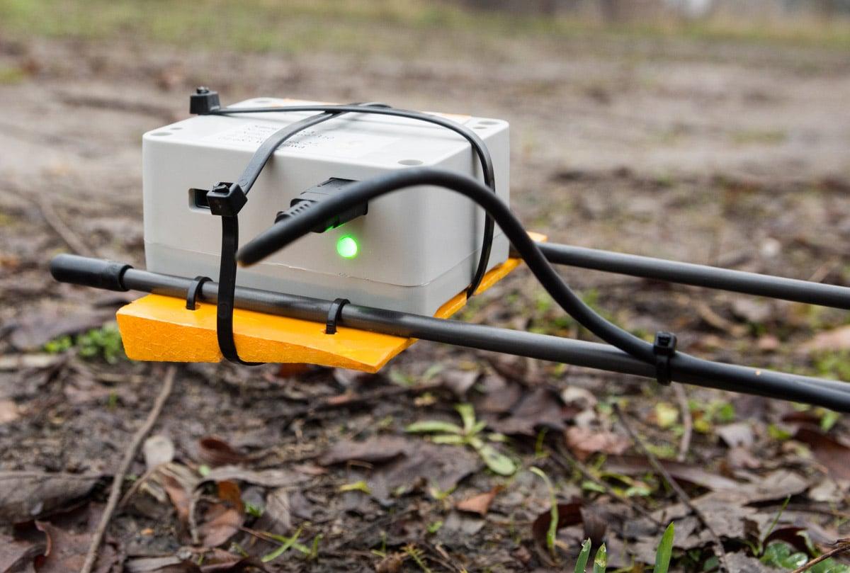 Czujnik smogu na dronie