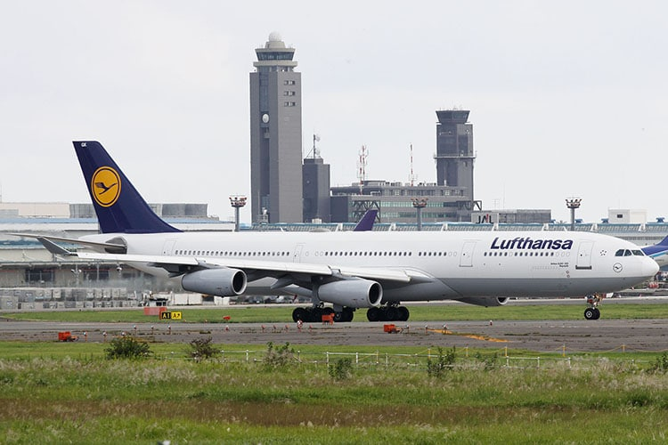 Airbus A340 fot. Kentaro Iemoto,  CC-BY-SA-2.0
