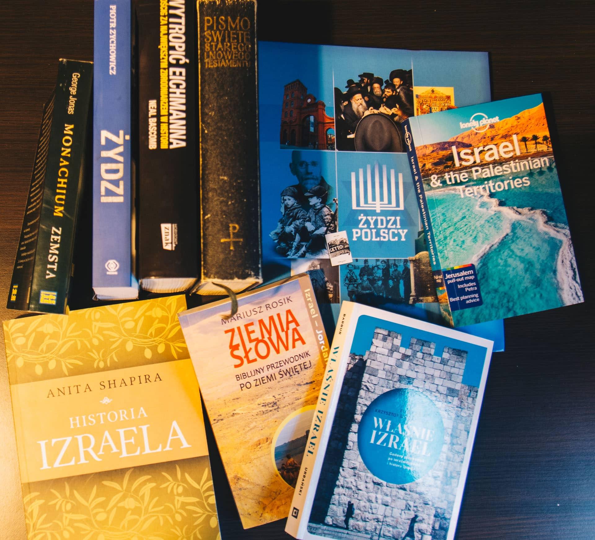 Książki o Izraelu