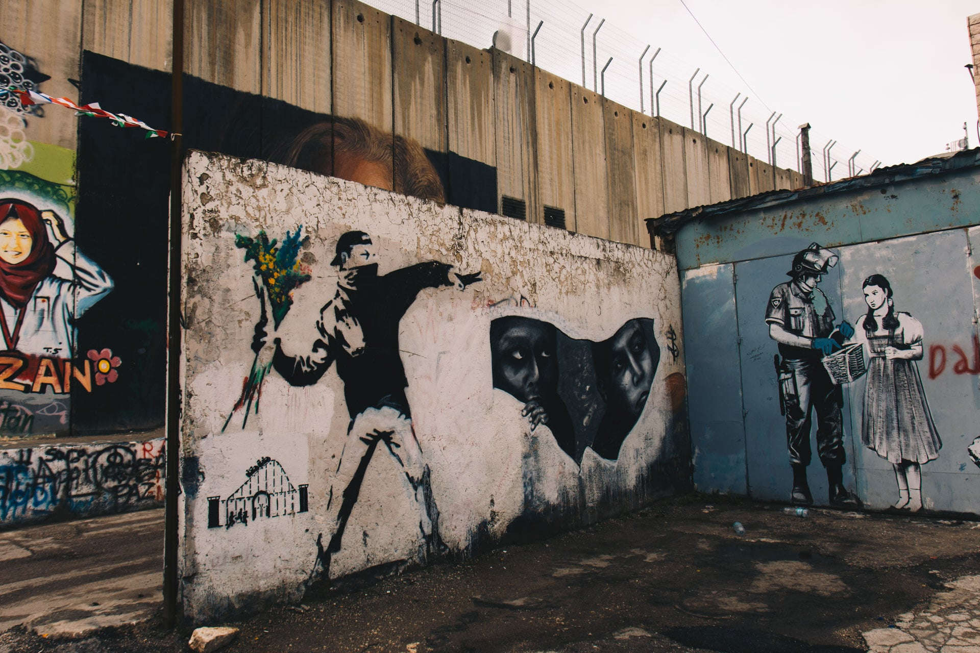 Banksy w Betlejem