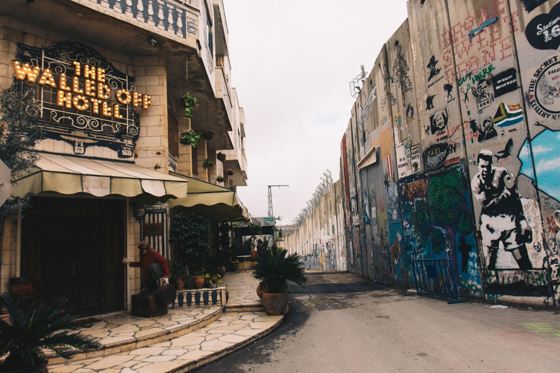 Hotel Banksy w Betlejem