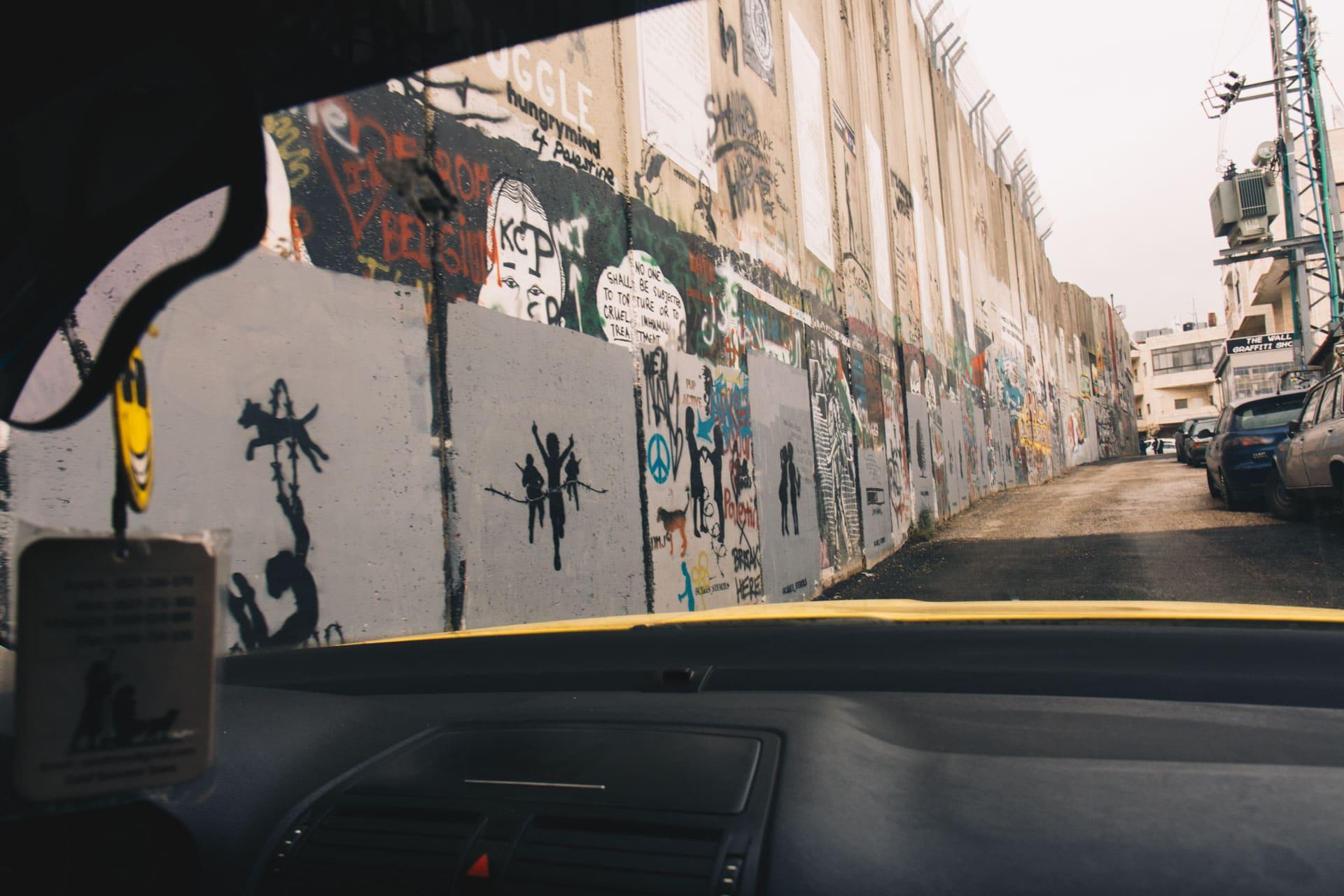 Mur w Betlejem