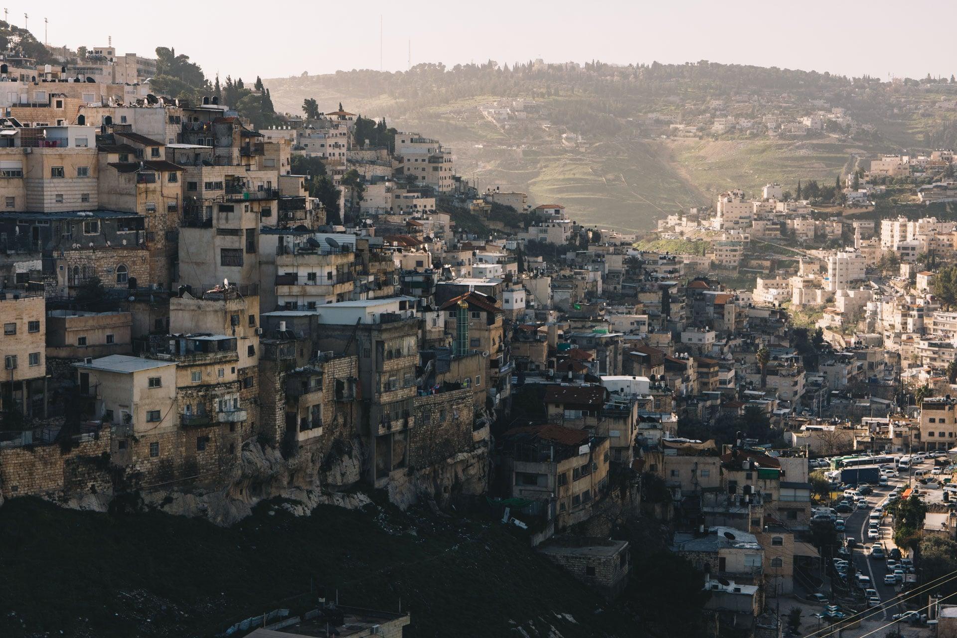 Jerozolima poza murami