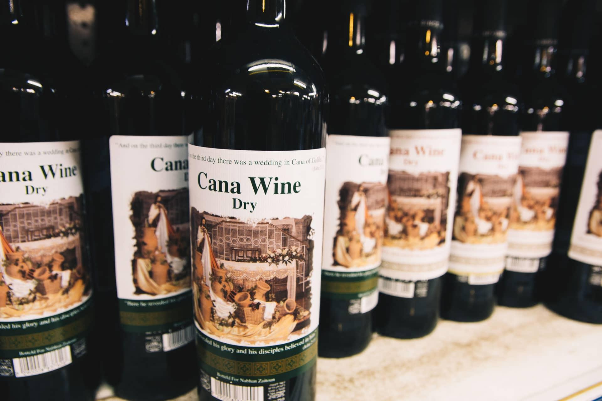 Wino z Kany Galilejskiej