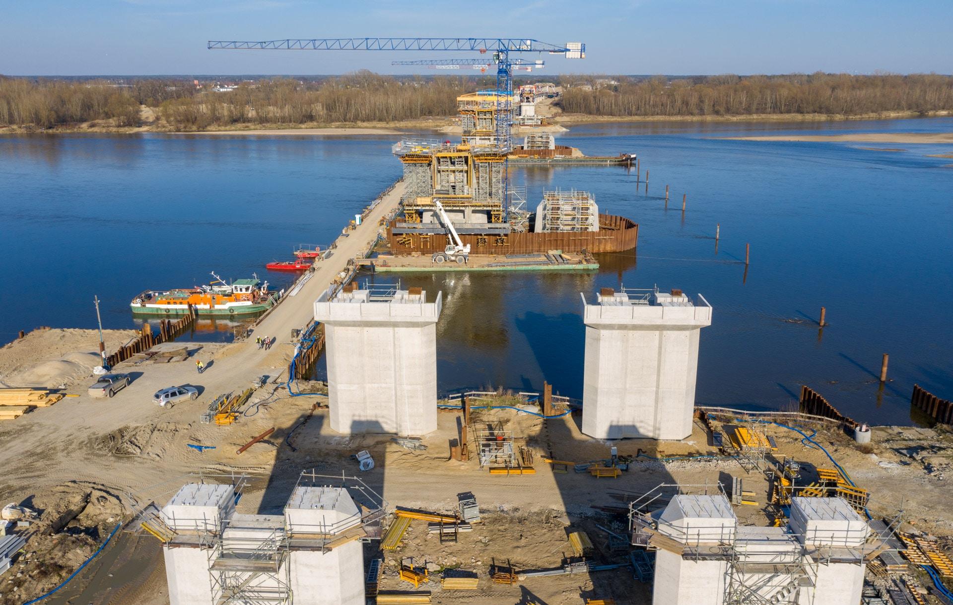 Budowa Mostu Południowego