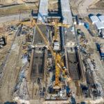 Budowa Mostu Południowego z drona II