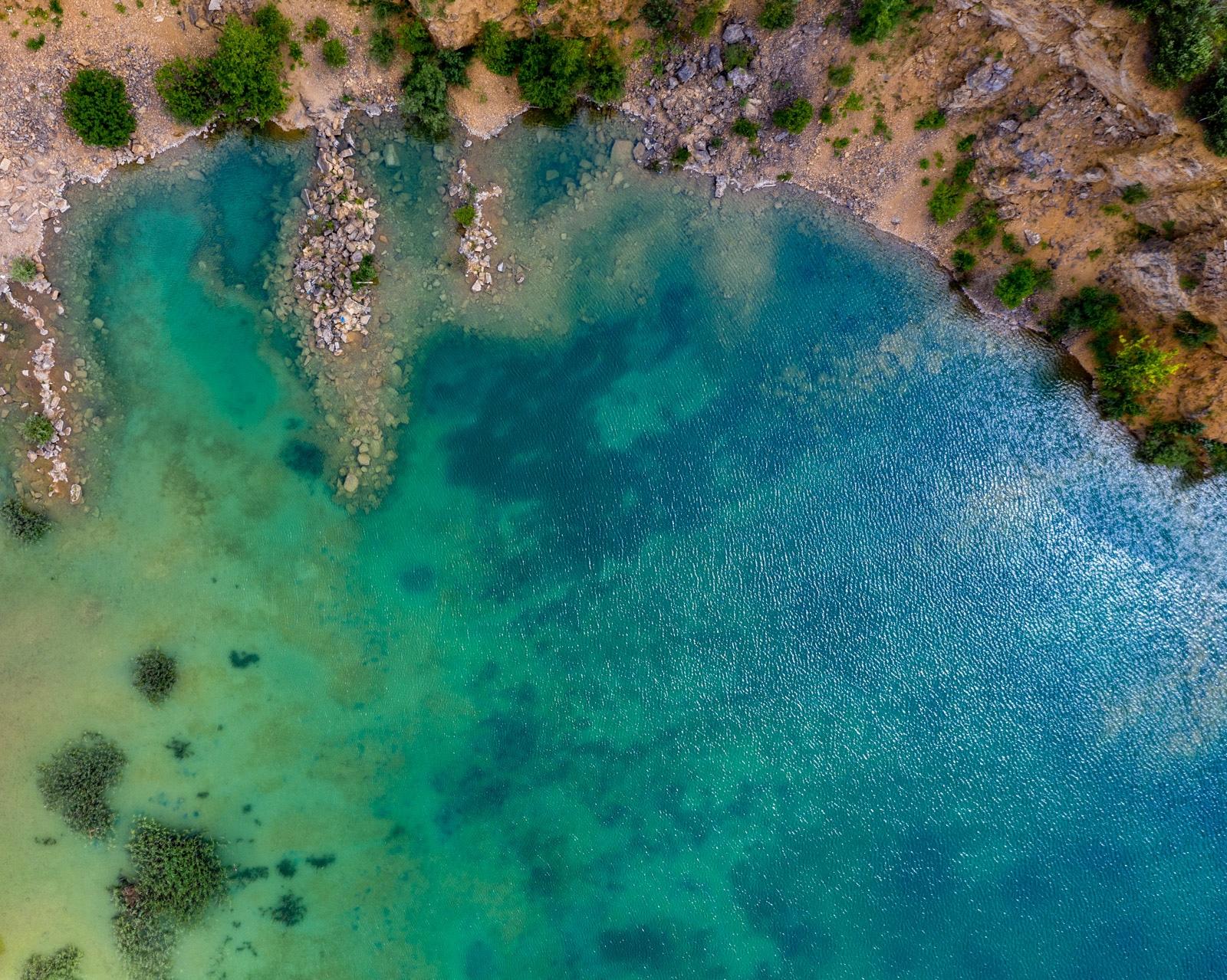 Turkusowe jeziorko w Jaworznie