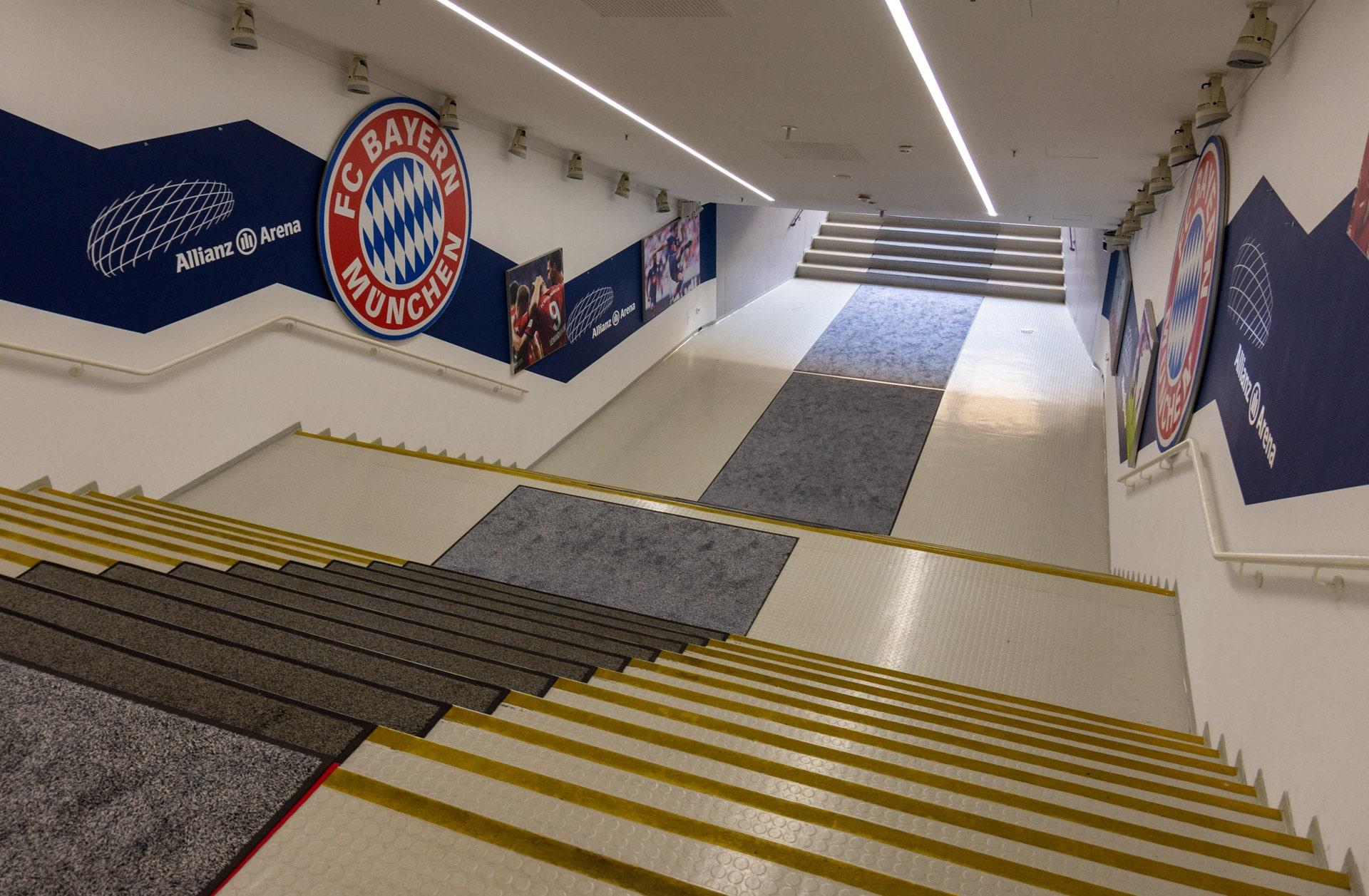 Allianz Arena tunel