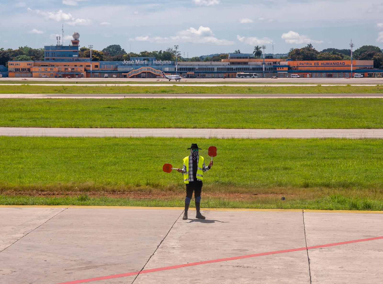 Lotnisko w Hawanie