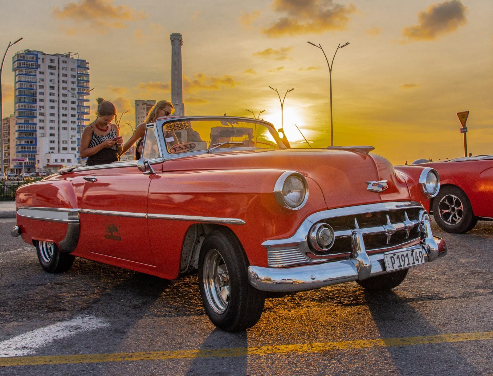 Hawana - stare samochody