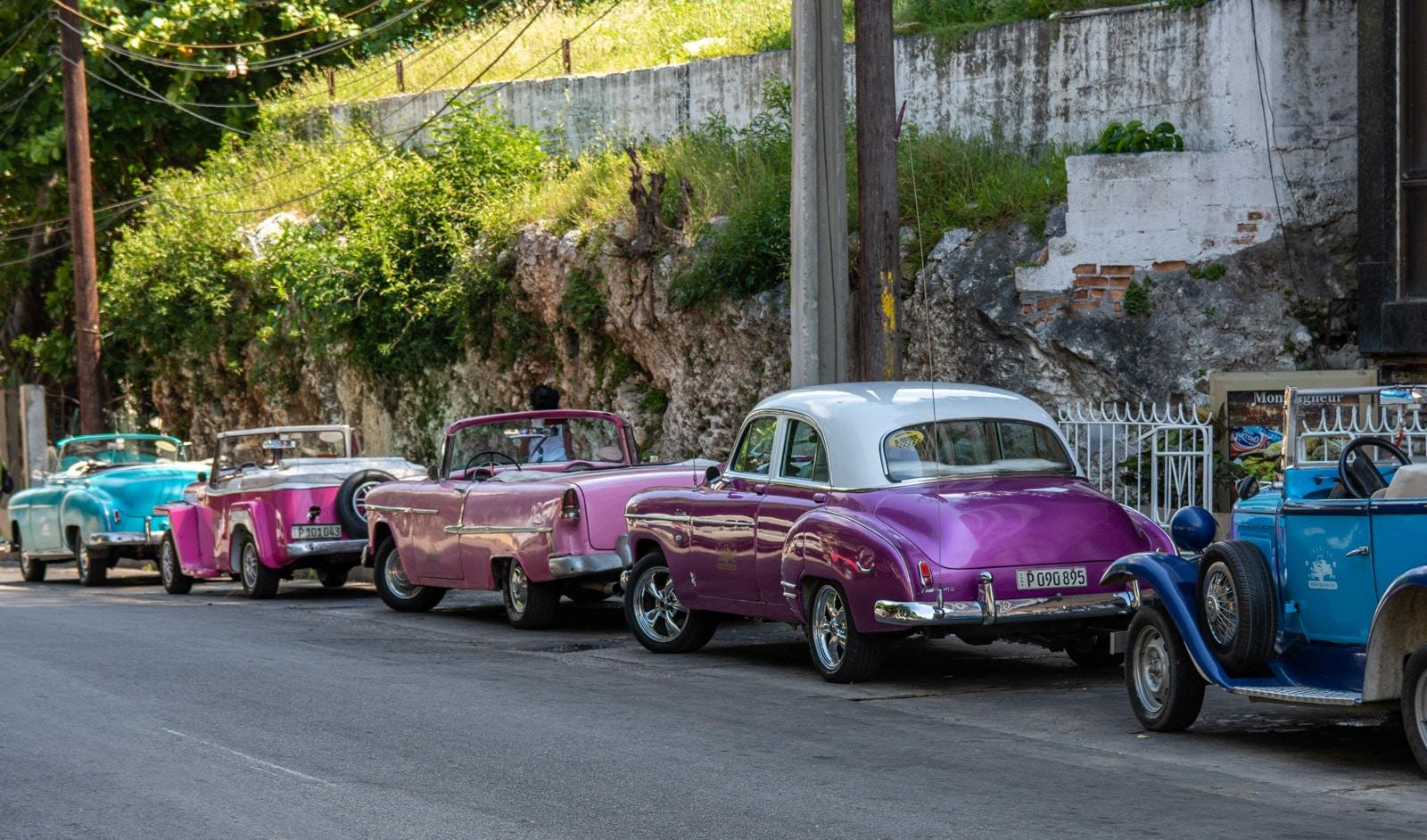 Kuba - stare samochody
