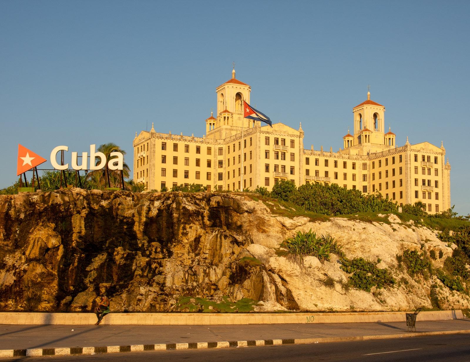 Hotel Nacional de Cuba w Hawanie
