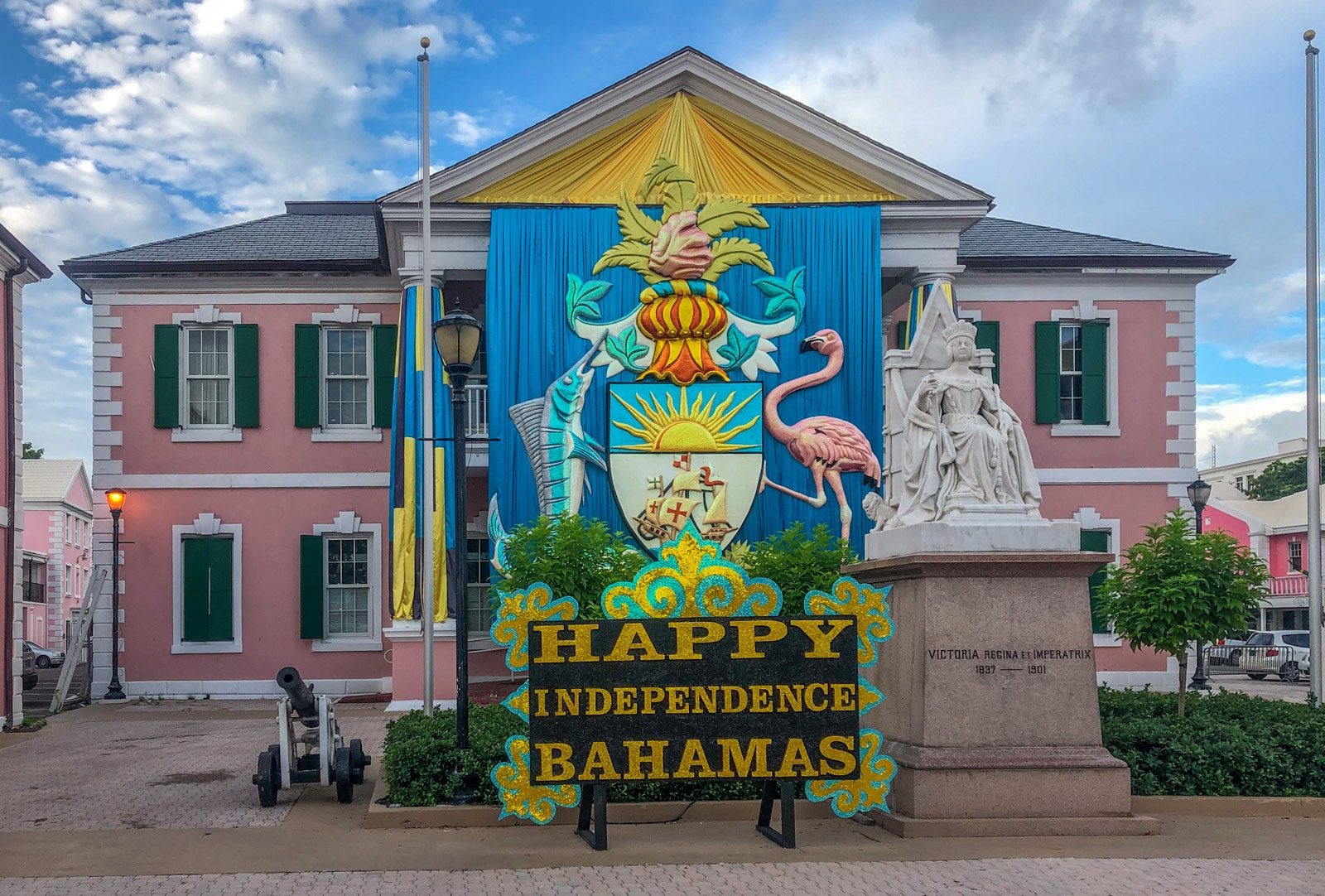 Siedziba Parlamentu Bahamów