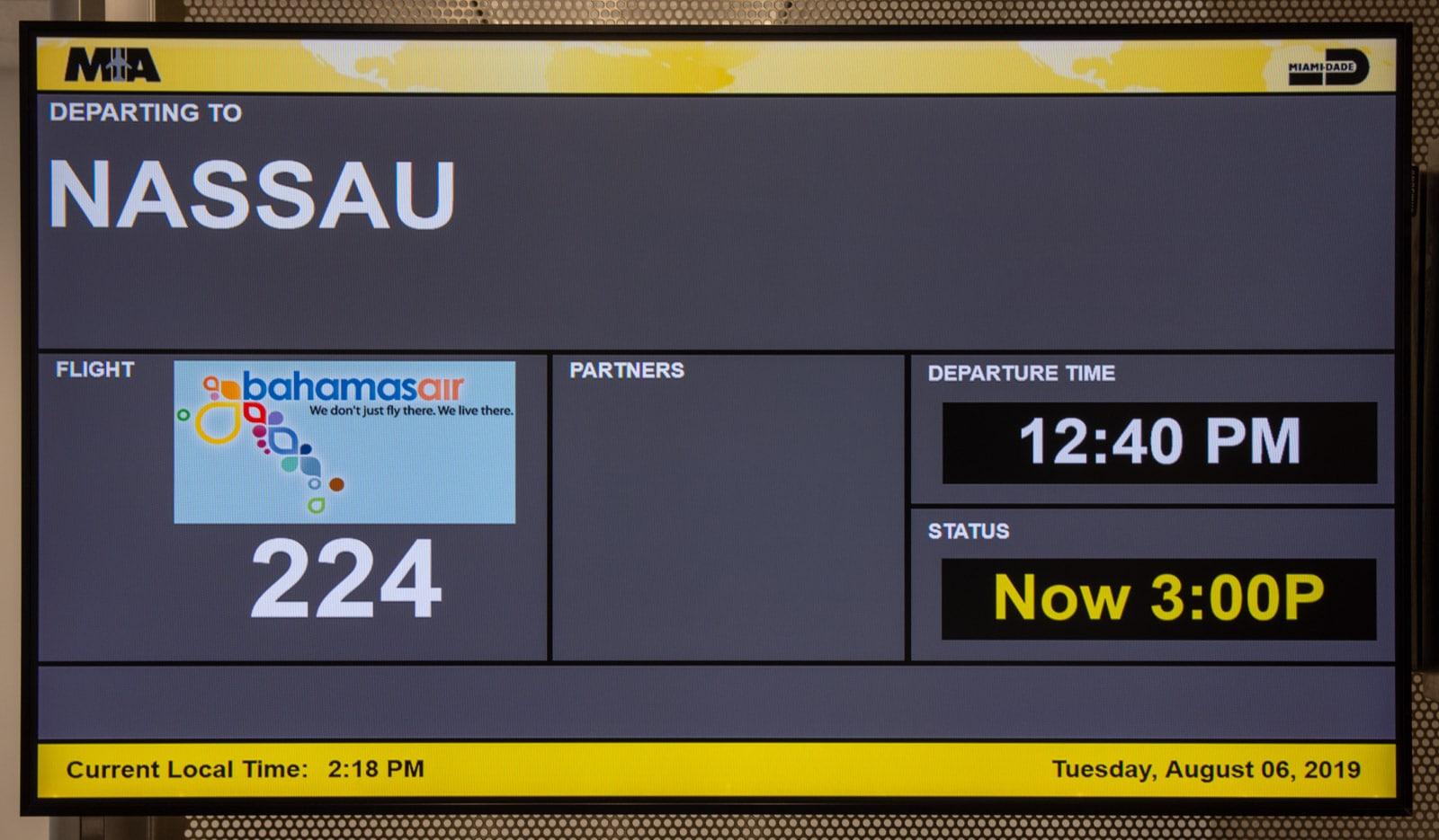 Nassau plane