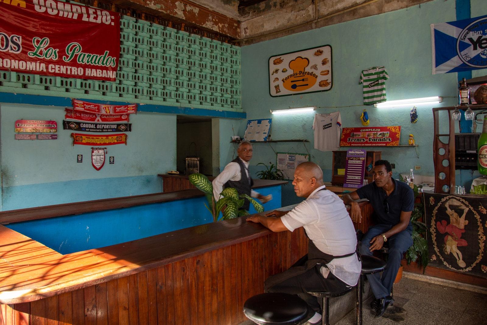 Bar w Hawanie