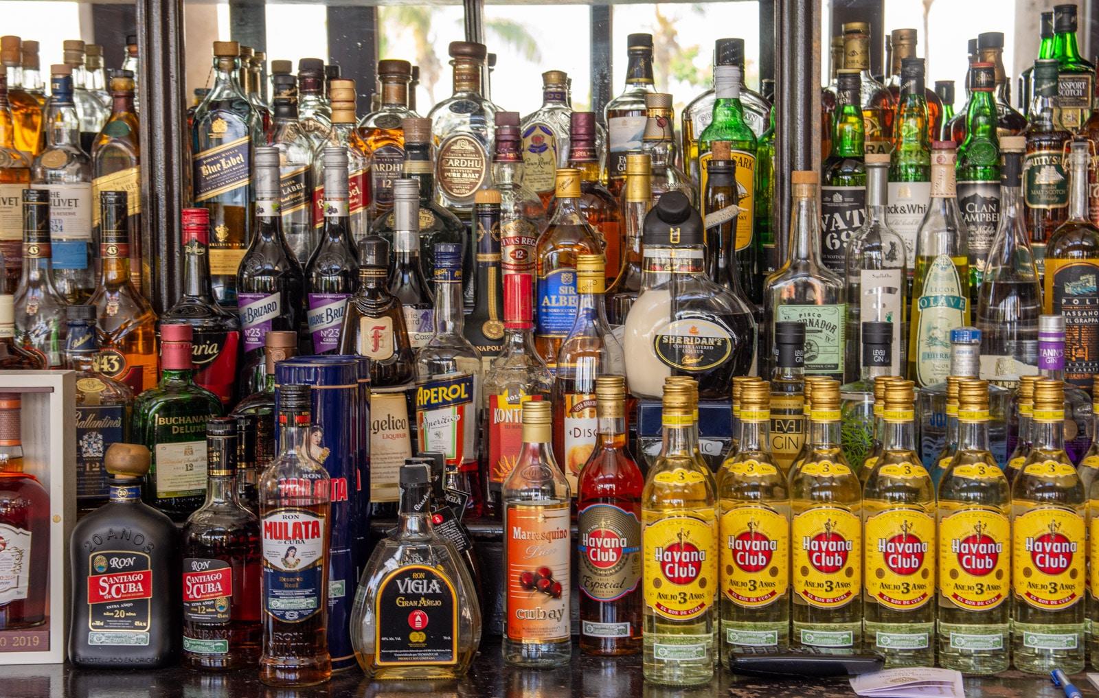 Rum w Hawanie