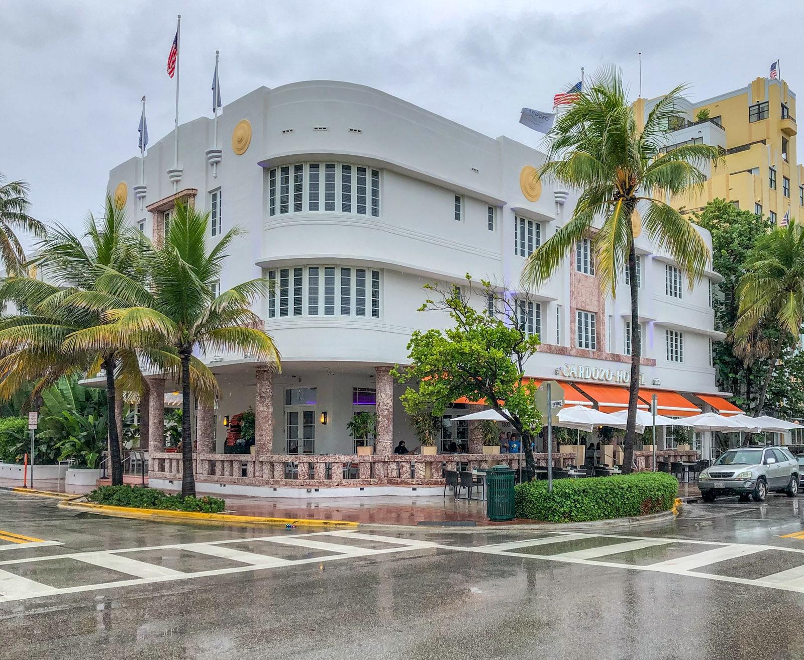 Art Deco w Miami
