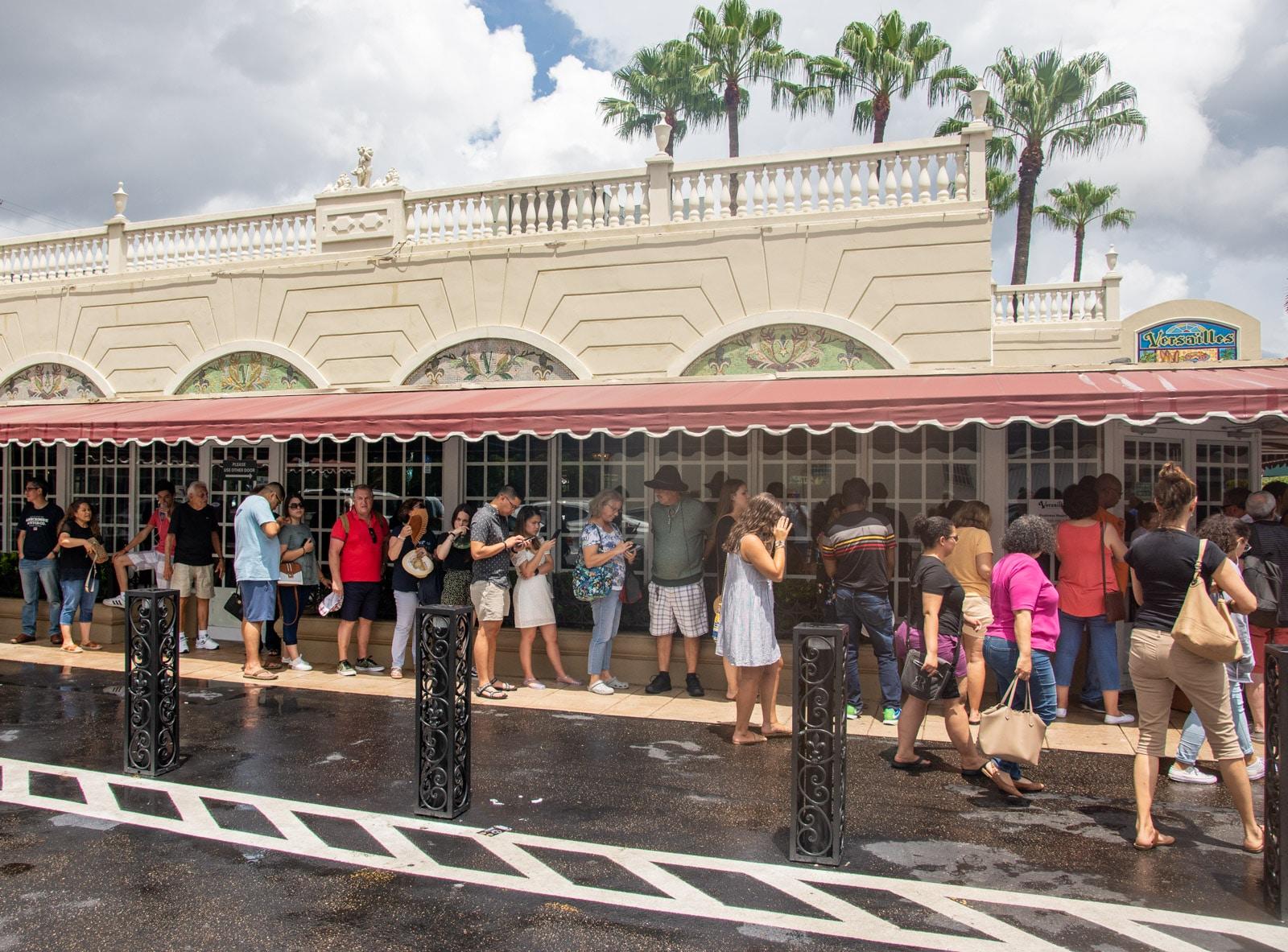 Restauracja Versailles w Miami