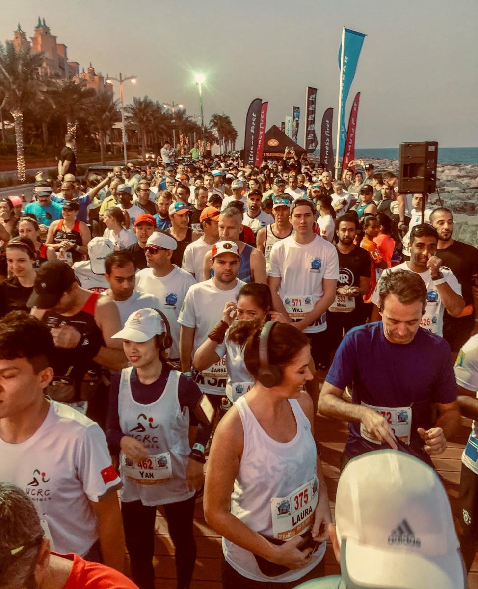 Półmaraton w Dubaju