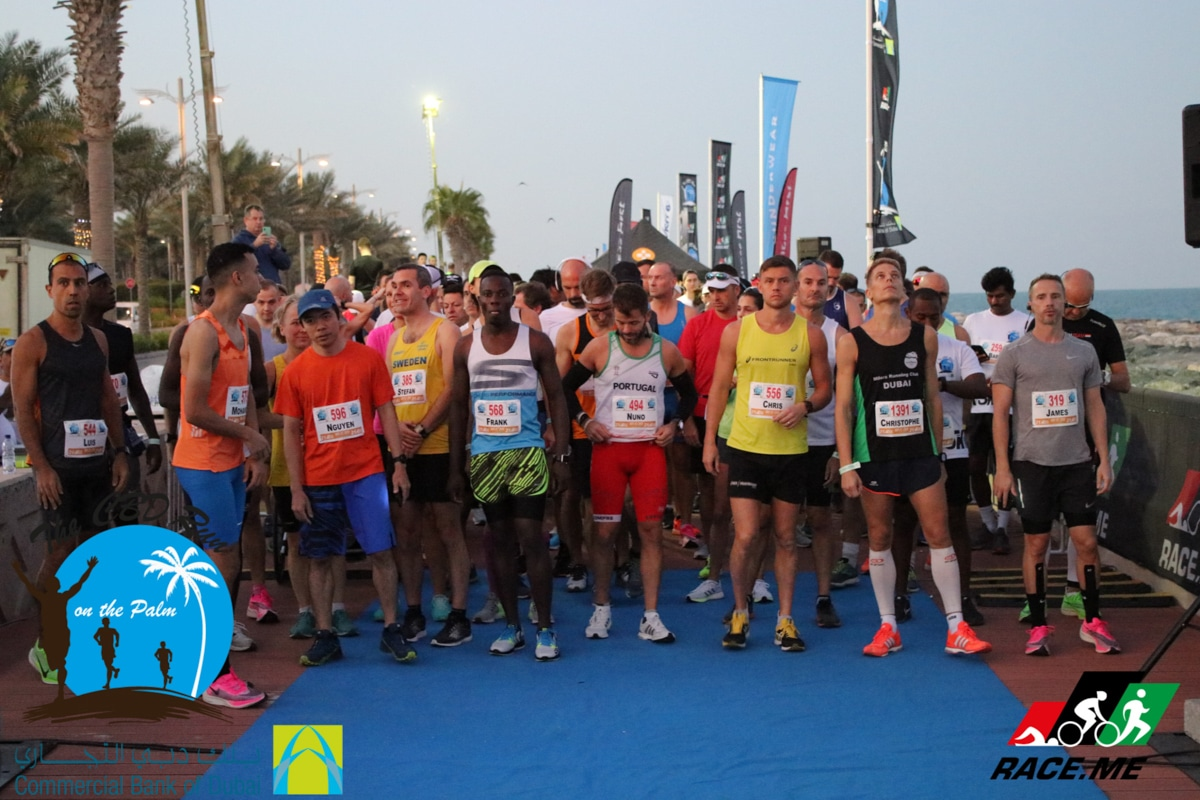 Dubai Halfmarathon, The Palm