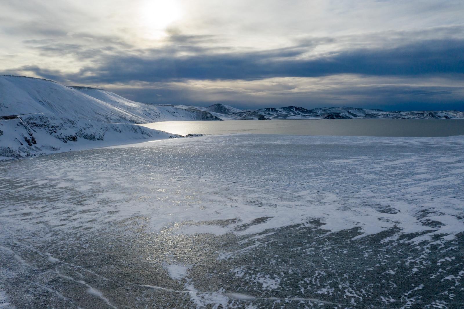 Jezioro Kleifarvatn