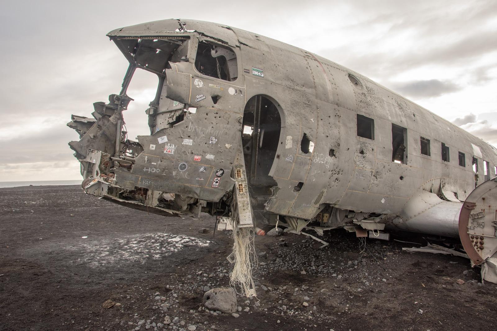 Wrak samolotu C-117