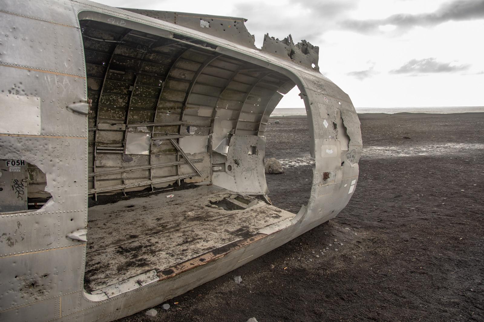 Wrak samolotu na Islandii