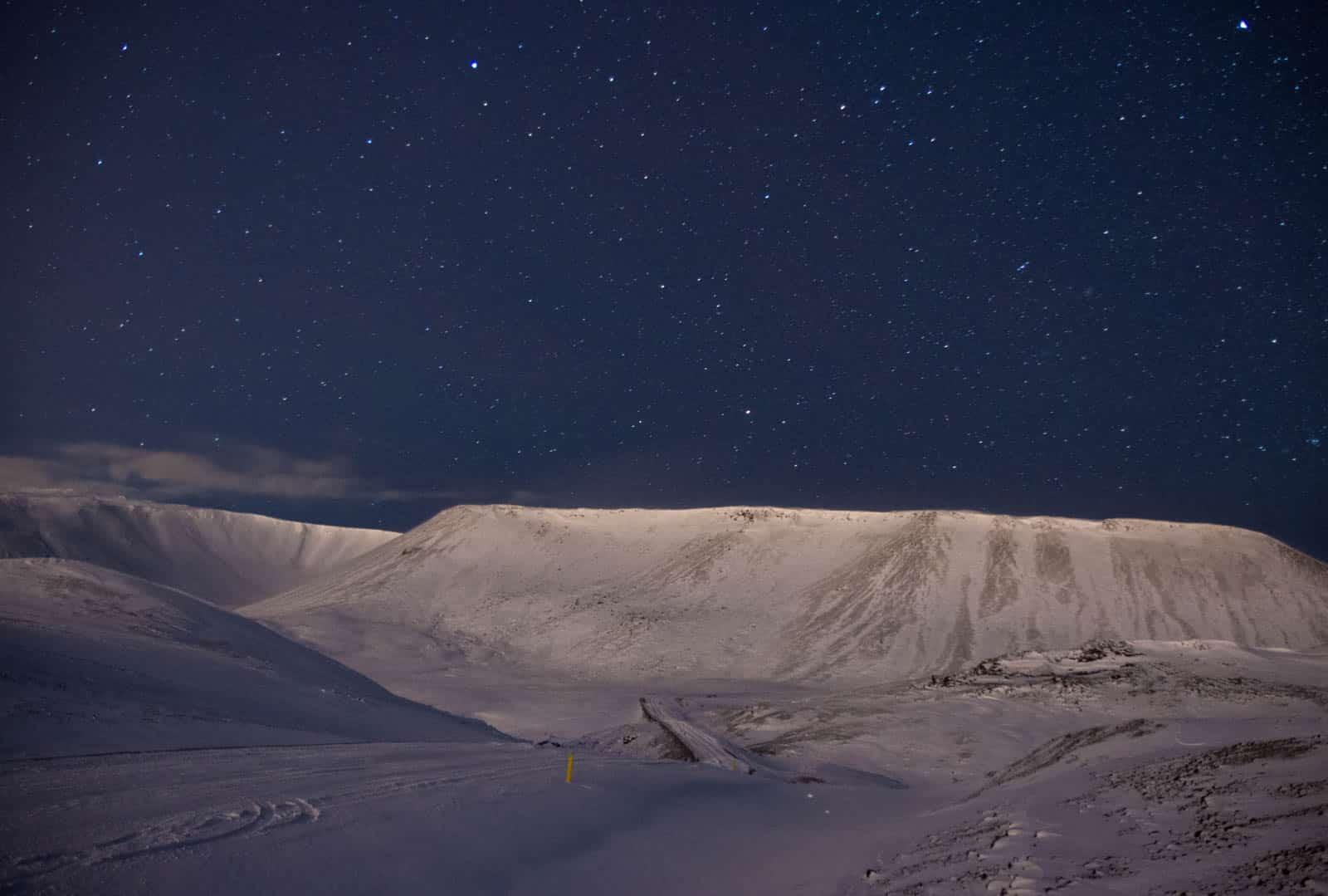 Niebo nad Islandią