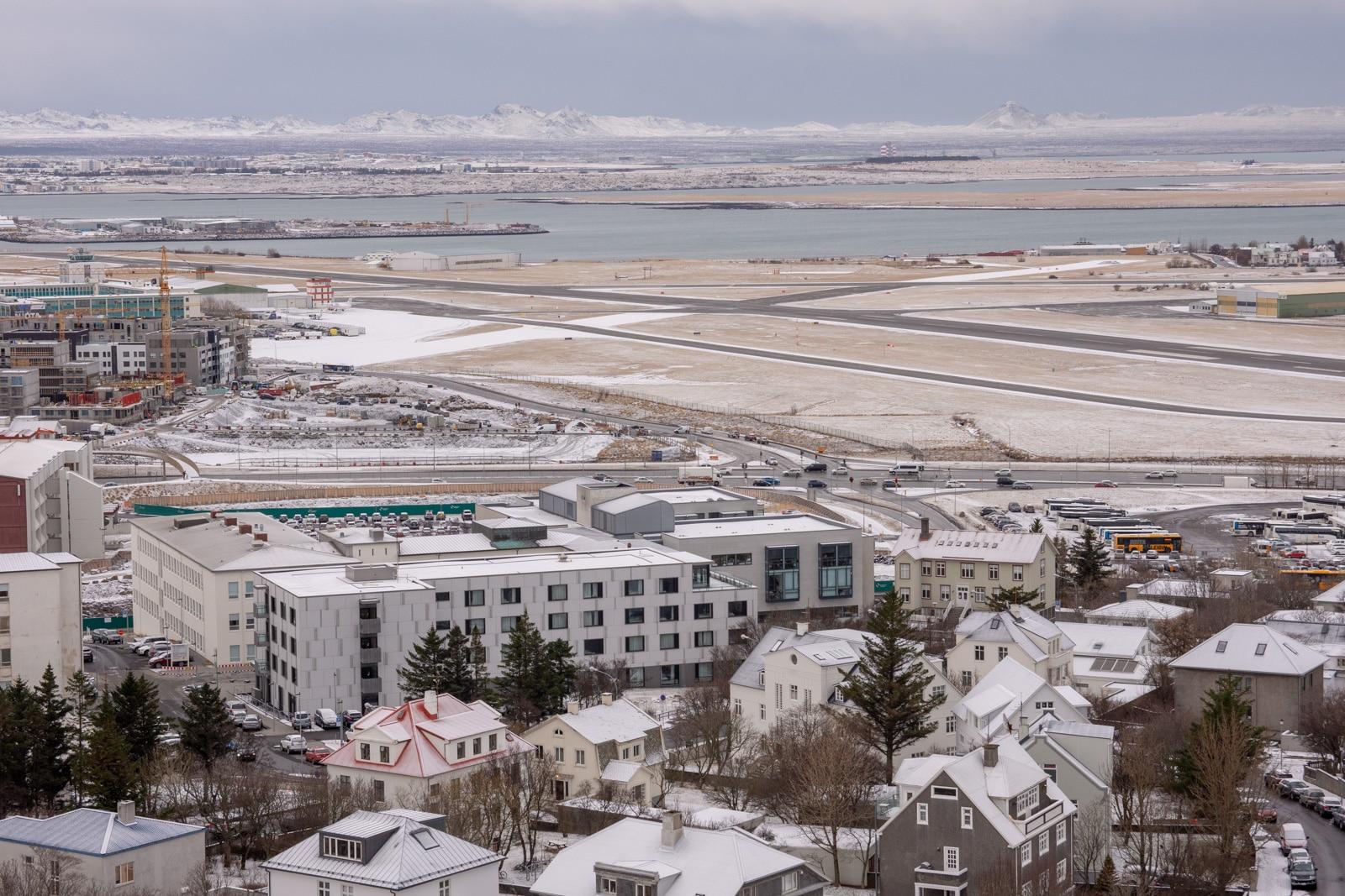 Lotnisko w Rejkjawiku