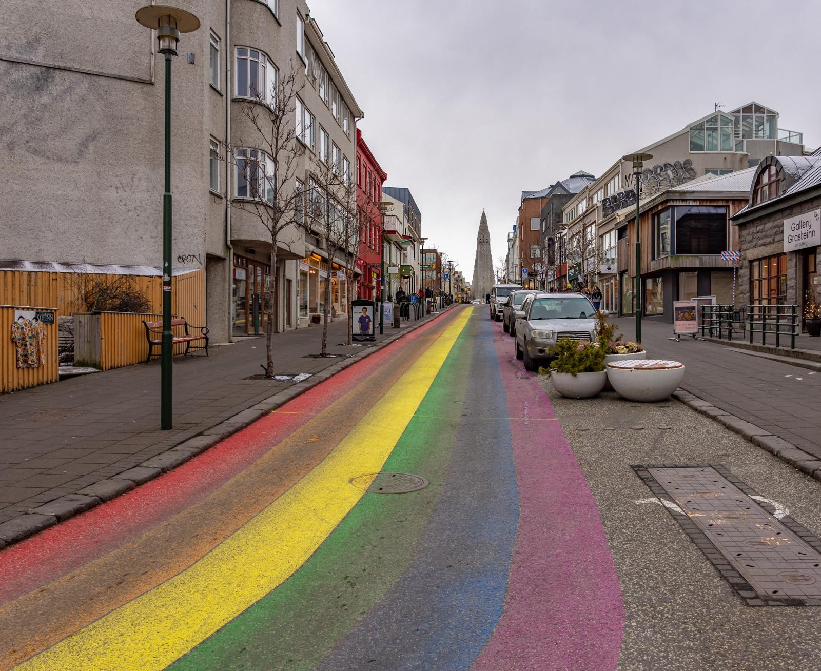 Ulice w Rejkjawiku